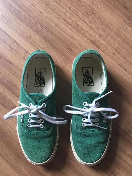 Tênis Vans Verde Número 37