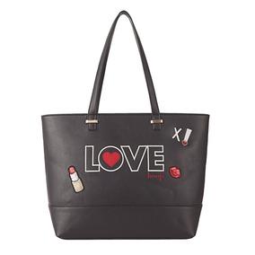 Bolsa Tote Bag Love Betty Boop Bp2902 Preta