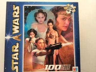Rompecabezas Star Wars: Amidala Y Leia 100 Piezas