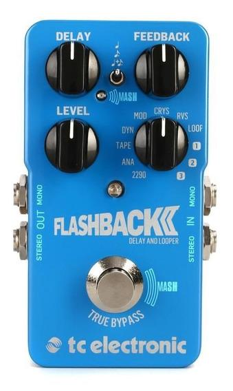 Pedal Tc Electronic Flashback 2 Delay- Tape, Analog (zerado)