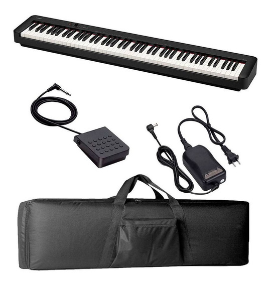 Piano Digital Casio Cdps100 + Pedal + Bag Luxo | Cdp-s100