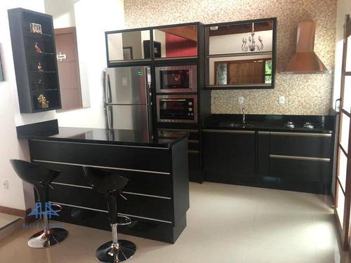 Casa Com 3 Dormitórios À Venda, 200 M² Por R$ 599.800,00 - Córrego Grande - Florianópolis/sc - Ca0110
