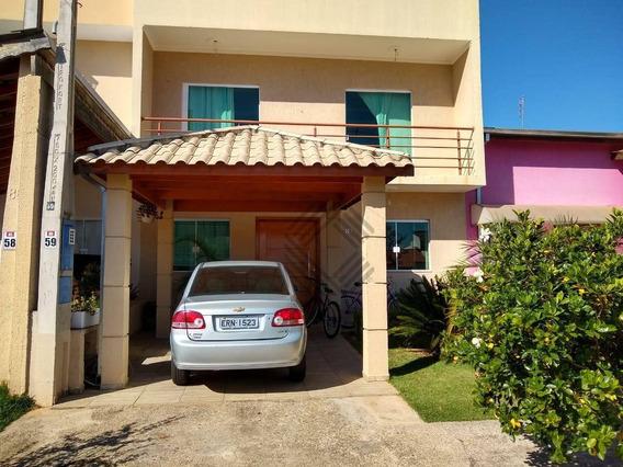 Sobrado Com 4 Dormitórios À Venda, 122 M² Por R$ 470.000 - Condomínio Horto Florestal I - Sorocaba/sp - So3974