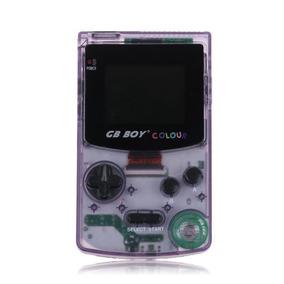 Gb Boy Colour Tela Iluminada Backlight + 66 Jogos Purple