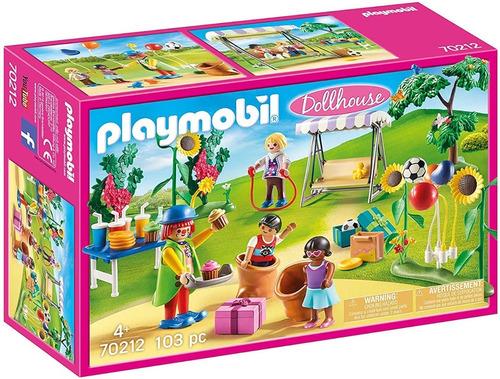 Playmobil Doll House 70212 - Fiesta De Cumpleaños