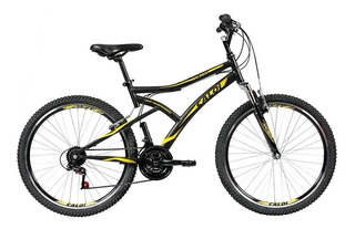 Bicicleta Caloi Andes Aro 26,freio V-brake, 21 Marchas Preta