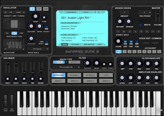 Synapse Audio - Dune2 V2.6 + Skin Vsti, Au Win.osx X86 X64