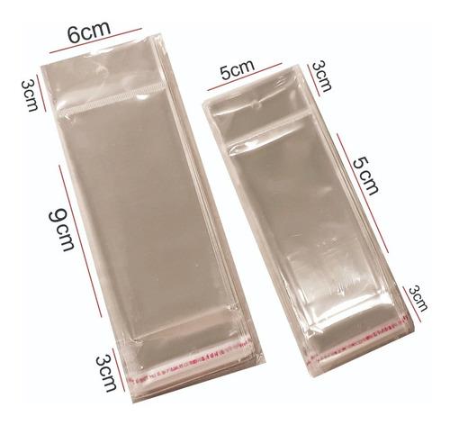 1000 Embalagens Saquinho Adesivado Adesivo De Unhas