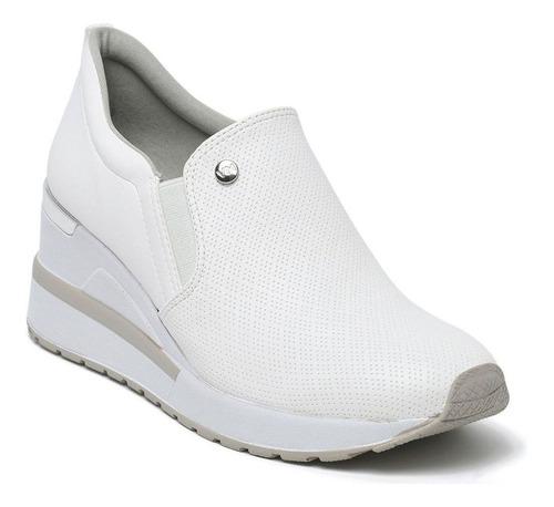 Tênis Feminino Anabela Sneaker Via Marte Slip On 21-1202 Bra