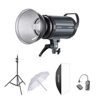 Neewer 300 W Studio Flash Estroboscópico Kit Iluminación Fot