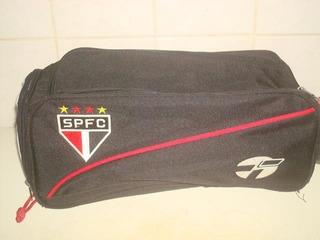 Bolsa Porta Chuteira Marca Topper Do São Paulo Futebol Club