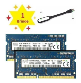 Memoria Ddr3 8gb Pc3l (2x4gb) 1600mhz P/ Pc E Mac Multimarca