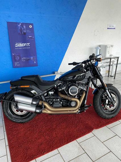 Harley Davidson Fat Bob 107 2018 Apenas 835km Posto 6