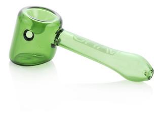 Grav® Labs Hammer Pipa Verde Pyrex 4.5 Pulgadas