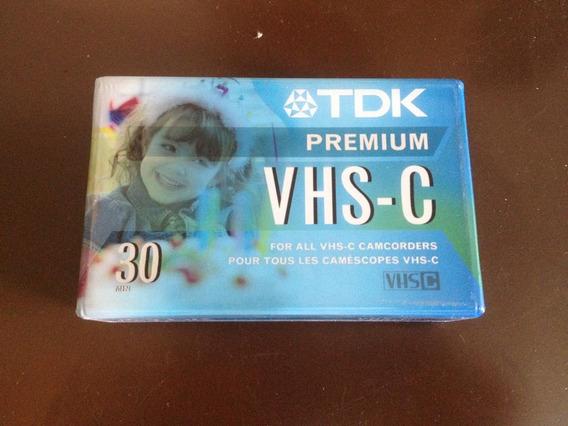 Casette Vhs-c30 Tdk