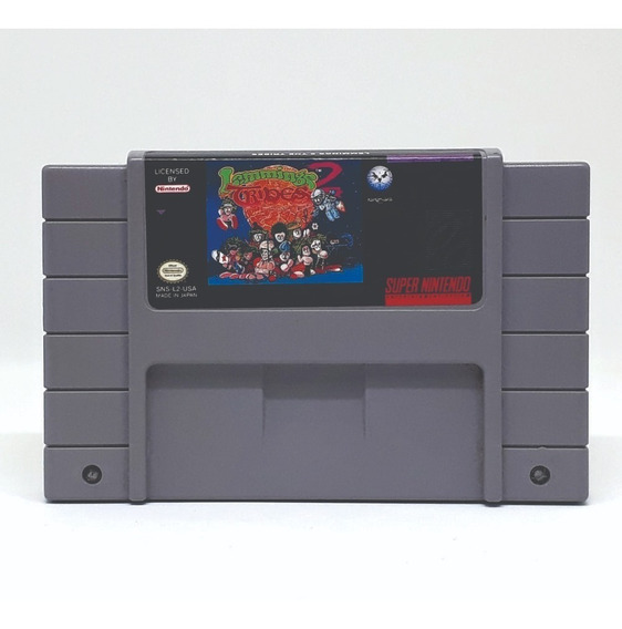 Lemmings 2 Tribes Super Nintendo! Loja Física! Sem Juros!