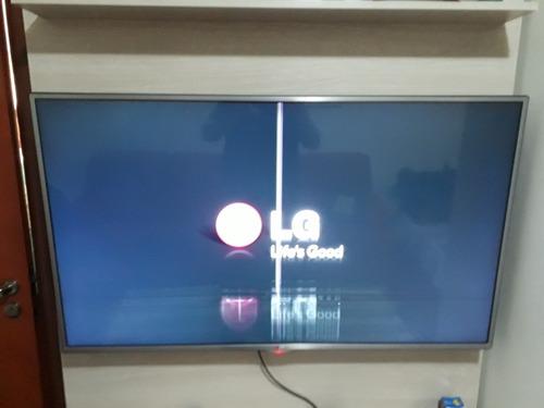 Tv LG Modelo 55la6130 Display Danificado
