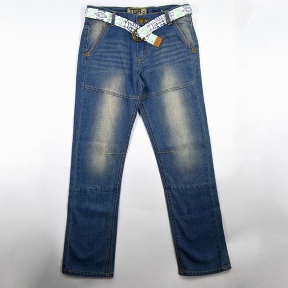 80200874 Calça Jeans Tigor T Tigre C/ Cinto