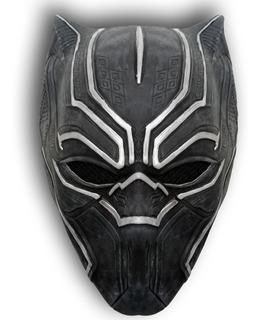 Mascara Latex Pantera Negra Black Panther T