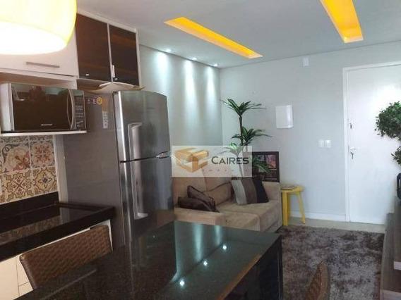 Apartamento Com 1 Dormitório À Venda, 40 M² Por R$ 180.000 - Jardim Ipiranga - Campinas/sp - Ap5591