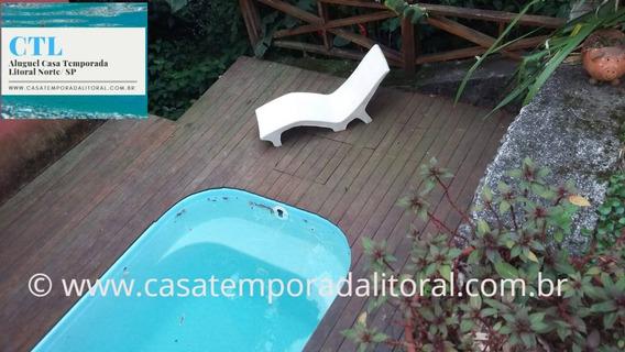 Casa Temporada Ilhabela .com Piscina Acomoda 14 Pessoas
