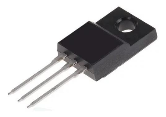 5x Transistor Fqpf 6n80c Mosfet 6n80c Fonte Lcd