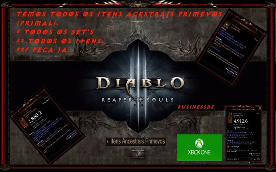 Itens Diablo 3 Xbox One 24 Sets Collection (primal).2.6.1