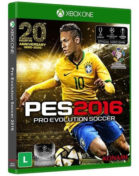 Pes 2016 Pro Evolution Soccer - Xbox One Mídia Física Nova