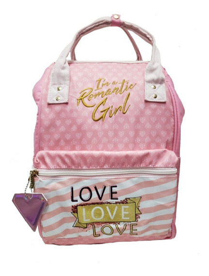Mochila-bolsa Backpack Los Polinesios . Karen Leslie