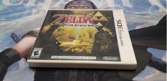 Zelda A Link Between Worlds 3ds Original Americano