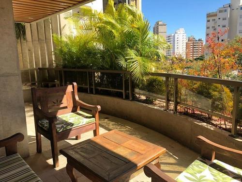 Imagem 1 de 30 de Apartamento Com 4 Dormitórios À Venda, 670 M² Por R$ 4.520.000 - Cambuí - Campinas/sp - Ap5724