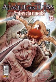 Ataque Dos Titãs - Antes Da Queda - Vol. 13