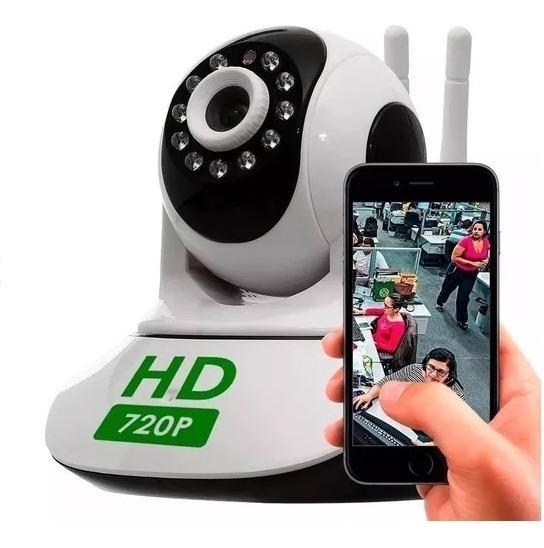 Camera Wifi Ip Hd720 Espiã P2p Noturna V380 Segurança