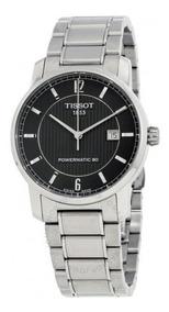 Relógio Tissot Tclassic Titanium T087.407.44.057.00 Original