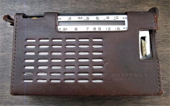 Rádio Antigo, De Pilhas Japonês, National Transistor 7 (c50)