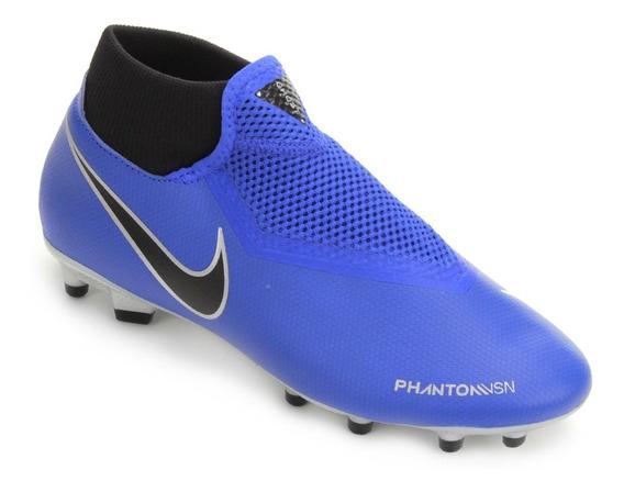 Chuteira Nike Phantom Vision Academy Azul