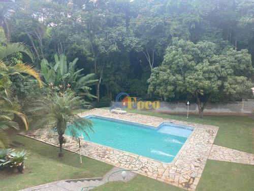 Imagem 1 de 30 de Chácara Com 3 Dormitórios À Venda, 1265 M² Por R$ 980.000,00 - Condomínio Parque Da Fazenda - Itatiba/sp - Ch0181