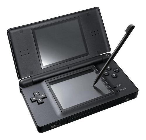 Nintendo DS Lite 256kB preto | Mercado Livre