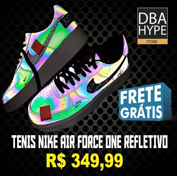 Tênis Nike Af1 Just Do It Refletivo - Sob Encomenda!