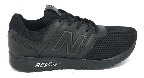 Tênis New Balance 247 Revlite Preto Bms Importados