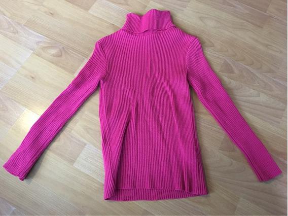 Suéter Rosa Cuello De Tortuga Niña American Clothing Co 3x