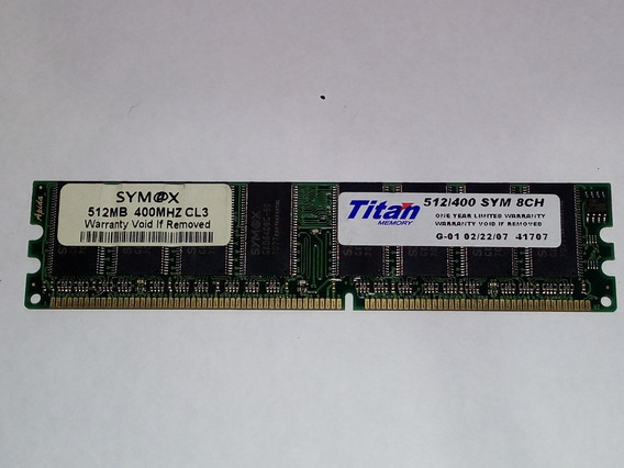 Ddr1 400mhz 512mb