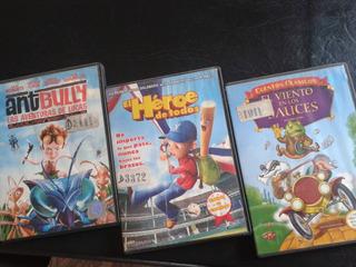 Colección Animación-infantil-ant Bully-el Heroe-sauces-dvd