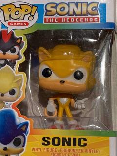 Sonic , Muñeco Tipo Funko Pop , En Caja ( Alternativo )