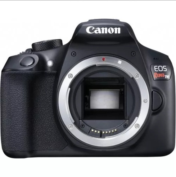 Usado - Canon Eos T6 + 18-55mm Kit + 50mm F/1.8