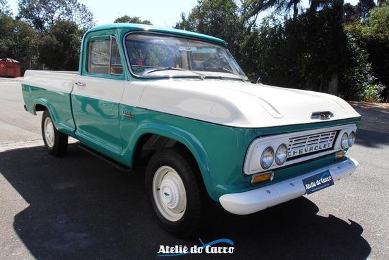 Chevrolet Pick Up C-14 1966 - Nova E Original Em Detalhes -