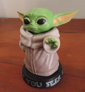 Figura Baby Yoda 9cm - The Mandalorian - Impresa En 3d