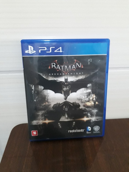 Batman Arkham Knight Ps4 Mídia Física Dublado
