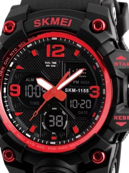 Relógio Skmei Digital-vermelho