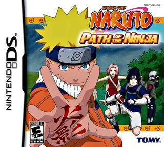 Cartucho Naruto Path Of The Ninja Nintendo Ds
